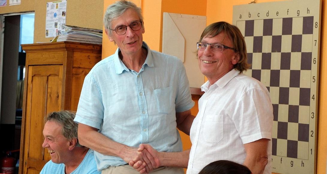 Claude Hugonnot et Daniel Blardone