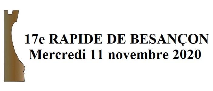 11 novembre – 17e  Rapide