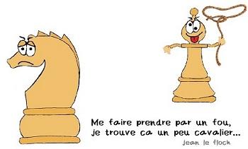 Finale : Bon Fou contre Cavalier